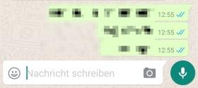 WhatsApp grauer Haken obwohl gelesen: Keine blauen Haken?