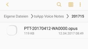 Whatsapp Sprachnachrichten In Mp3 Umwandeln