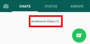 Whatsapp Chat Archivieren Rückgängig Machen